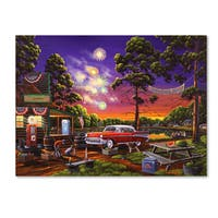 Geno Peoples 'Independence Day' Canvas Art