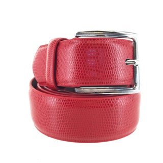 Faddism Mens Square Buckle Expedition Leather Belt Model:FS002 (More options available)