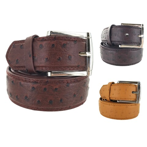 Faddism Mens Square Buckle Urban Cow Boy Leather Belt Model:145