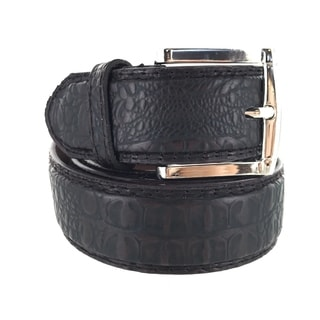 Faddism Mens Square Buckle Urban Cow Boy Leather Belt Model:291