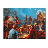 Geno Peoples 'Life On The Range' Canvas Art