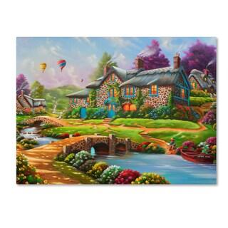 Geno Peoples 'Dreamscape' Canvas Art