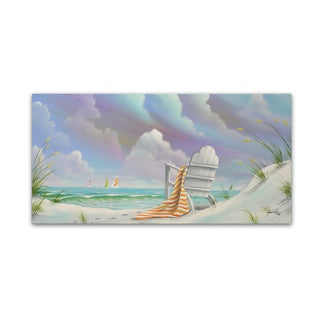 Geno Peoples 'Beach 4' Canvas Art
