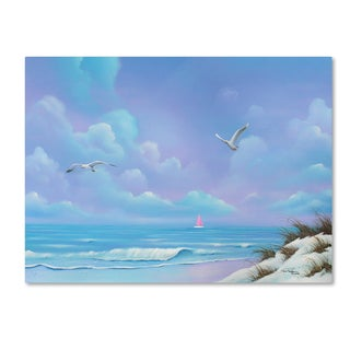 Geno Peoples 'Beach 3' Canvas Art