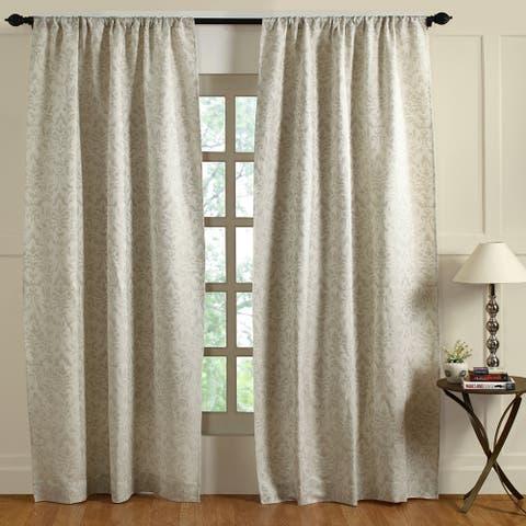 Cottage Home Claudette 96-inch Curtain Panel