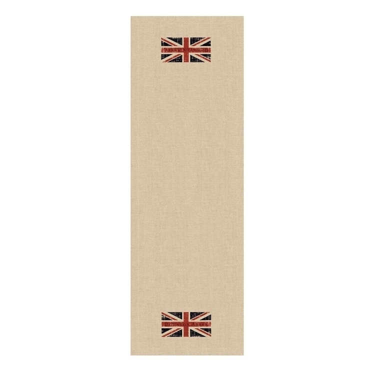 Heritage Lace Downton Abbey British Union Jack Natural Be...