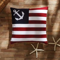 "American Ahoy 18"" x 18"" Pillow"