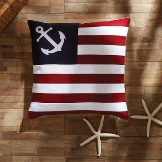 "American Ahoy 18"" x 18"" Pillow"