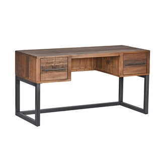 Matteo Natural Reclaimed Pine Desk by Kosas Home
