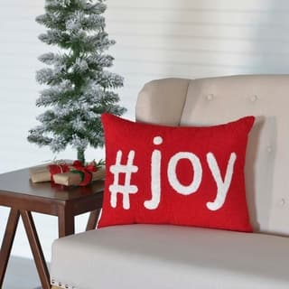 "Joy 14"" x 18"" Pillow|https://ak1.ostkcdn.com/images/products/17960553/P24137263.jpg?impolicy=medium"