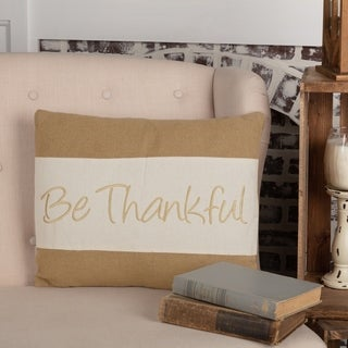 "Be Thankful 14"" x 18"" Pillow"