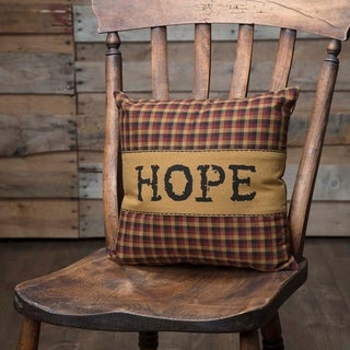 """Heritage Farms Hope 12"""" x 12"""" Pillow"""