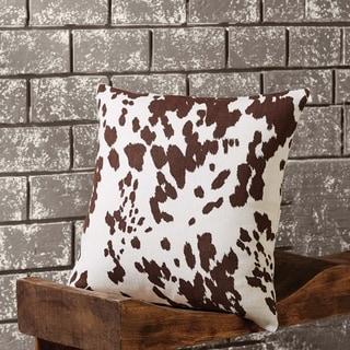 "Cowhide 18"" x 18"" Pillow"