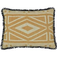 "Dakota Jacquard 14"" x 18"" Pillow"