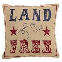 "Land Of The Free 12"" x 12"" Pillow Set"