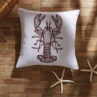 """Lobster 18"""" x 18"""" Pillow"""