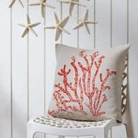 "Coral Life 18"" x 18"" Pillow"