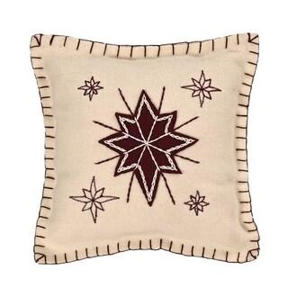 "North Star 10"" x 10"" Pillow"