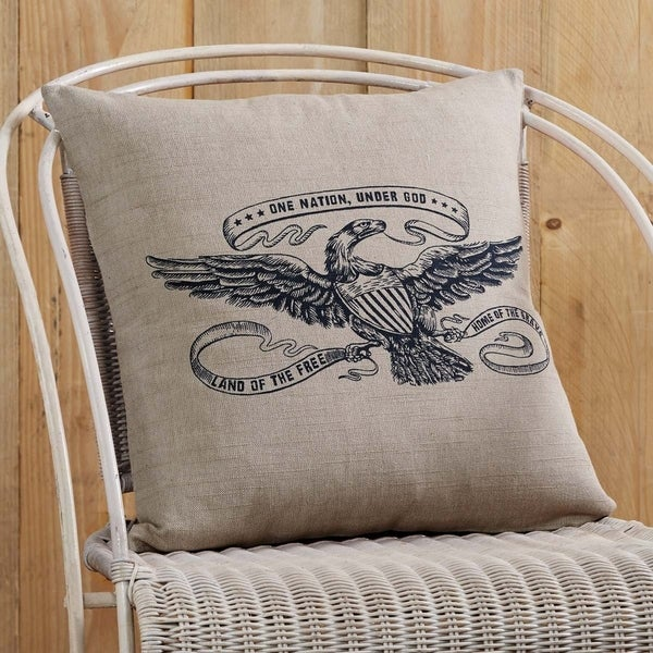 """Victory Eagle 18"""" x 18"""" Pillow"""
