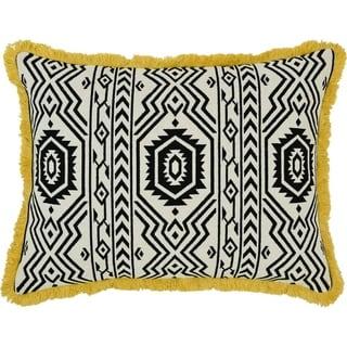 "Xena Jacquard 14"" x 18"" Pillow"