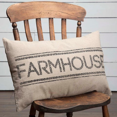 "Sawyer Mill Farmhouse 14"" x 22"" Pillow"