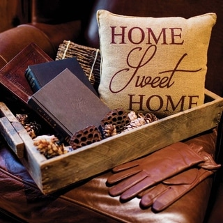 "Home Sweet Home 12"" x 12"" Pillow"