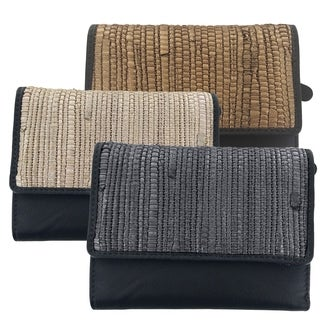 Faddism Artisan Collection Fashion Lady Clutch Wallet - Roxine (3 options available)