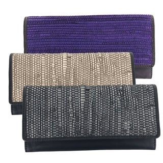 Faddism Artisan Collection Fashion Lady Clutch Wallet - Roxine (2 options available)