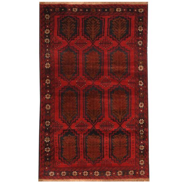Handmade Balouchi Wool Rug (Afghanistan) - 2'9 x 4'8