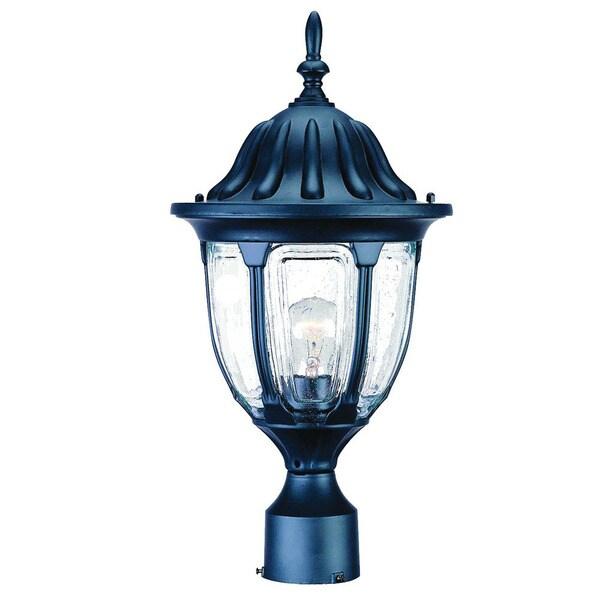 Acclaim Lighting Somerset 1 Light Matte Black Outdoor Post: Shop Acclaim Lighting Suffolk Collection 1-Light Outdoor