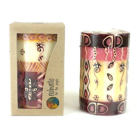 Hand Painted Candle - Single in Box - Halisi Design (South Africa)