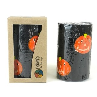 Hand Painted Candle - Single in Box - Halloween Design (South Africa)