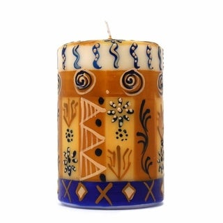 Hand Painted Candle - Single in Box - Durra Design (South Africa)