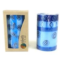 Hand Painted Candle - Single in Box - Feruzi Design (South Africa)