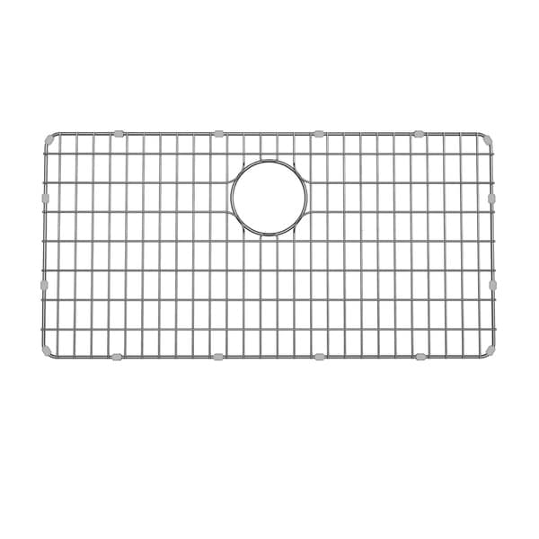 Kraus BG3117 33 Inch Stainless Steel Kitchen Sink Bottom Grid With Soft Rubber Bumpers