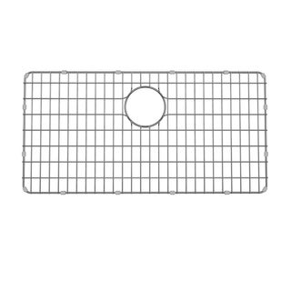 Kraus BG3117 33 inch Stainless Steel Kitchen Sink Bottom Grid, Bumpers - 28-9/10 in. x 14-3/5 in.
