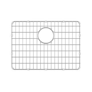 Kraus BG2317 25 inch Stainless Steel Kitchen Sink Bottom Grid with Soft Rubber Bumpers