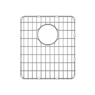 Kraus BG1517 17 inch Stainless Steel Kitchen Sink Bottom Grid with Soft Rubber Bumpers