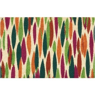 """Waverly Greetings """"Bits n' Pieces"""" Clay Doormat by Nourison (2' x 3')"""