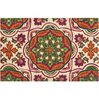 "Waverly  Greetings ""Tapestry"" Clay Doormat by Nourison (2' x 3')"