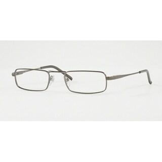 Sferoflex Men's SF2201 231 50 Matte Gunmetal Rectangle Metal Eyeglasses
