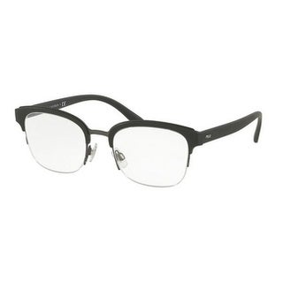 Polo Men's PH2177 5284 50 Matte Dark Gunmetal Rectangle Plastic Eyeglasses
