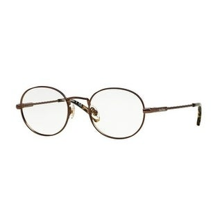 Brooks Brothers Men's BB1018 1571 47 Bronze Round Metal Eyeglasses