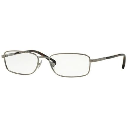 4285b9bf8dc69 Shop Brooks Brothers Men s BB1036 1161 55 Brown Rectangle Metal Eyeglasses  - Free Shipping Today - Overstock.com - 17961282