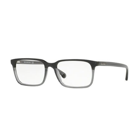 c9e2d9b3c3 Shop Brooks Brothers Men s BB2033 6123 54 Grey Wood Grey Translucent  Rectangle Plastic Eyeglasses - Free Shipping Today - Overstock.com -  17961308