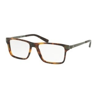 Ralph Lauren Men's RL6162 5017 55 Havana Jerry Square Plastic Eyeglasses