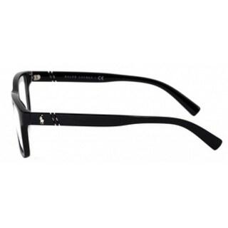 Polo Men's PH2176 5001 52 Shiny Black Rectangle Plastic Eyeglasses