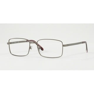 Sferoflex Men's SF2262 231 53 Matte Gunmetal Square Metal Eyeglasses