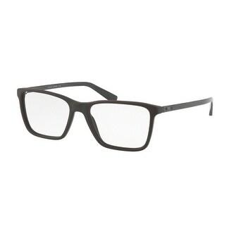926acc7707 Shop Ralph Lauren Men s RL6163 5643 53 Olive Brown Sandbast Rectangle  Plastic Eyeglasses - Free Shipping Today - Overstock.com - 17961897