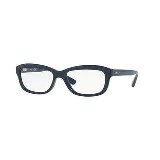 Donna Karan New York Women's DY4682 3734 53 Dark Blue Rectangle Plastic Eyeglasses